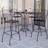 Aurora 5 Piece Bar Height Dining Set