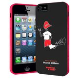 Pharrell Williams iPhone 5 Gel Shell Case