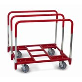 "Panel Mover 5"" Quiet Poly Casters, All Swivel, 3 Standard Uprights"