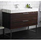Principal Basin and Cabinet in Walnut