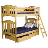 Lyndon Twin over Twin Bunk Bed with Storage