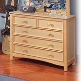 Wakefield Wide 5 Drawer Chest