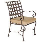 Classico Dining Arm Chair with Cushion