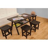 Drew Playtime Kids' Table and Stool Set