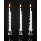 Twist Taper Candles (Set of 12)