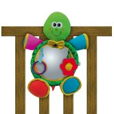 Turtle Soft Mirror Crib Toy