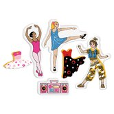 Magic Creations Let's Dance Bath Set