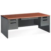 Mesa Series 36.25&quot; Executive Panel End Computer Desk