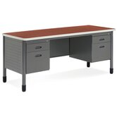 Double Pedestal Credenza