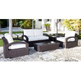 Como Lago Deep Seating Group with Cushions