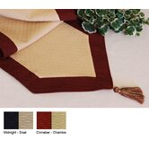 Wicker Table Linens and Placemats Reversible Table Runner