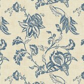 French Dressing Jacobean Floral Scroll Wallpaper