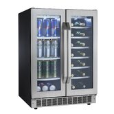 Silhouette 5.0 cu.ft. Built-In Dual Zone Beverage Center