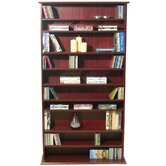 Large CD / DVD / Video Multimedia Storage Shelves