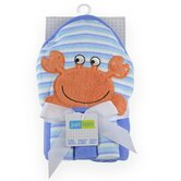 Just Born 4 Pieces Hooded Towel and Washcloth Sets