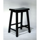 Antique Black 24&quot; Counter Stool