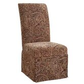 Classic Seating Tapestry Dining Chair Skirted Slipcover