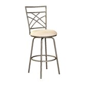 Barstool in Distressed Antique Gold
