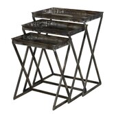 Reflectons 3 Piece Nesting Tables