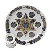 Traditional Porcelain Seder Plate