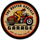 Busted Knuckle Garage Motorcycle Sign