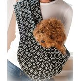 Metro Black Pet Sling