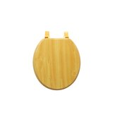 Wood Grain Molded Toilet Seat