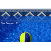 "Designer 9"" Blue Diamond Borderlines Kit"