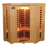 3-4 Person Corner Carbon Sauna