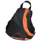 Piper Gear Slider Deluxe Backpack in Black / Orange