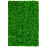 "Diamond Light Spring 96"" x 60"" Synthetic Lawn Grass Turf"