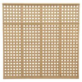 "4 High 6' 6"" H x 6' 8"" W x 2"" D Privacy Lattice Panel"