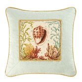 Natural Shells Conch and Scallop Shell Decorative Pillow Pack