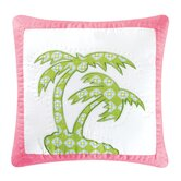 Surf's Up Tropic Patchwork Pillow