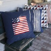 Flag Porch Pillow