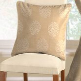 Pom Pom Cushion Cover in Soft Gold