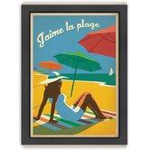 Coastal 'Jaime La Plague' by Joel Anderson Vintage Advertisement