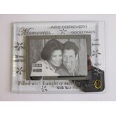 Moments Bevelled Glass Memories Photo Frame