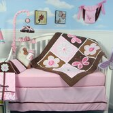 Floral Garden Baby 14 Piece Crib Nursery Bedding Set