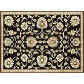 Halton Black/Gold Rug