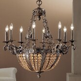 Merlot 12 Light Chandelier