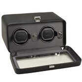 Double Watch Winder with Cover