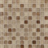 "Fashion 1"" x 1"" Glass Mosaic in Mix Fashion Sand"
