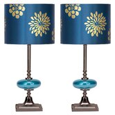 Braxton Table Lamp with Drum Shade (Set of 2)