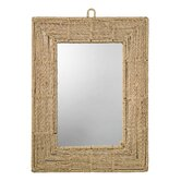 Jute Rectangular Mirror