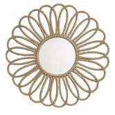 Flower Jute Mirror
