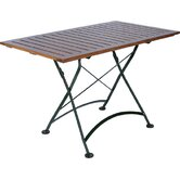 European Caf&eacute; 32&quot; x 48&quot; Folding Table