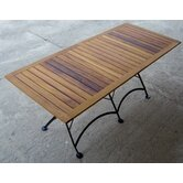 "European Café  32"" x 72"" Folding Table"