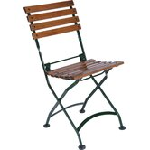 European Caf&eacute; Folding Side Chair (Set of 2)