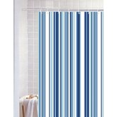 Stripe Polyester Shower Curtain
